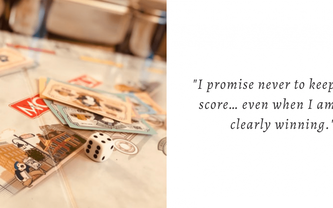 wedding vows funny - board game lovers