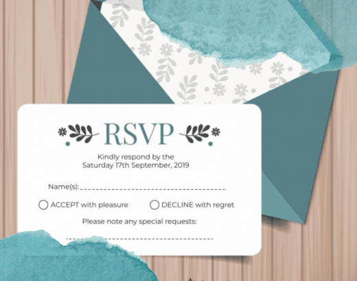 how to fill out wedding rsvp - thumbnail