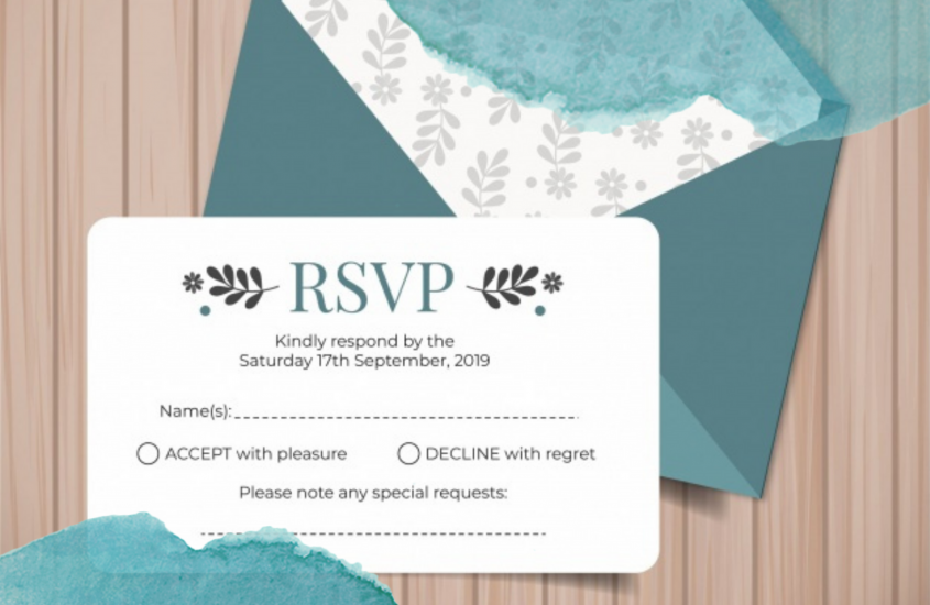 Response to Wedding Invitation: An Ultimate Guideline for Guests