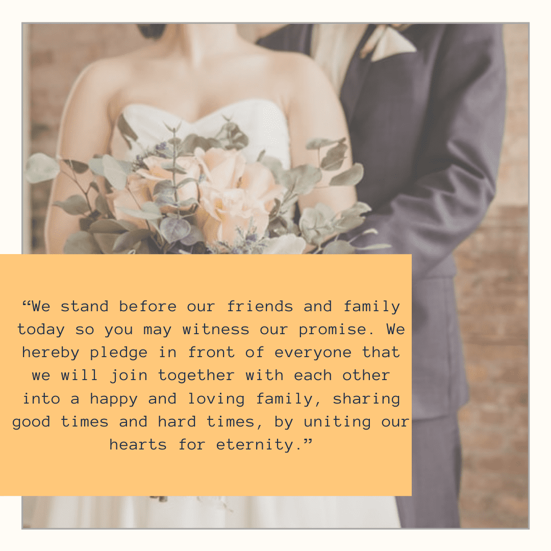 Atheist Wedding Vows