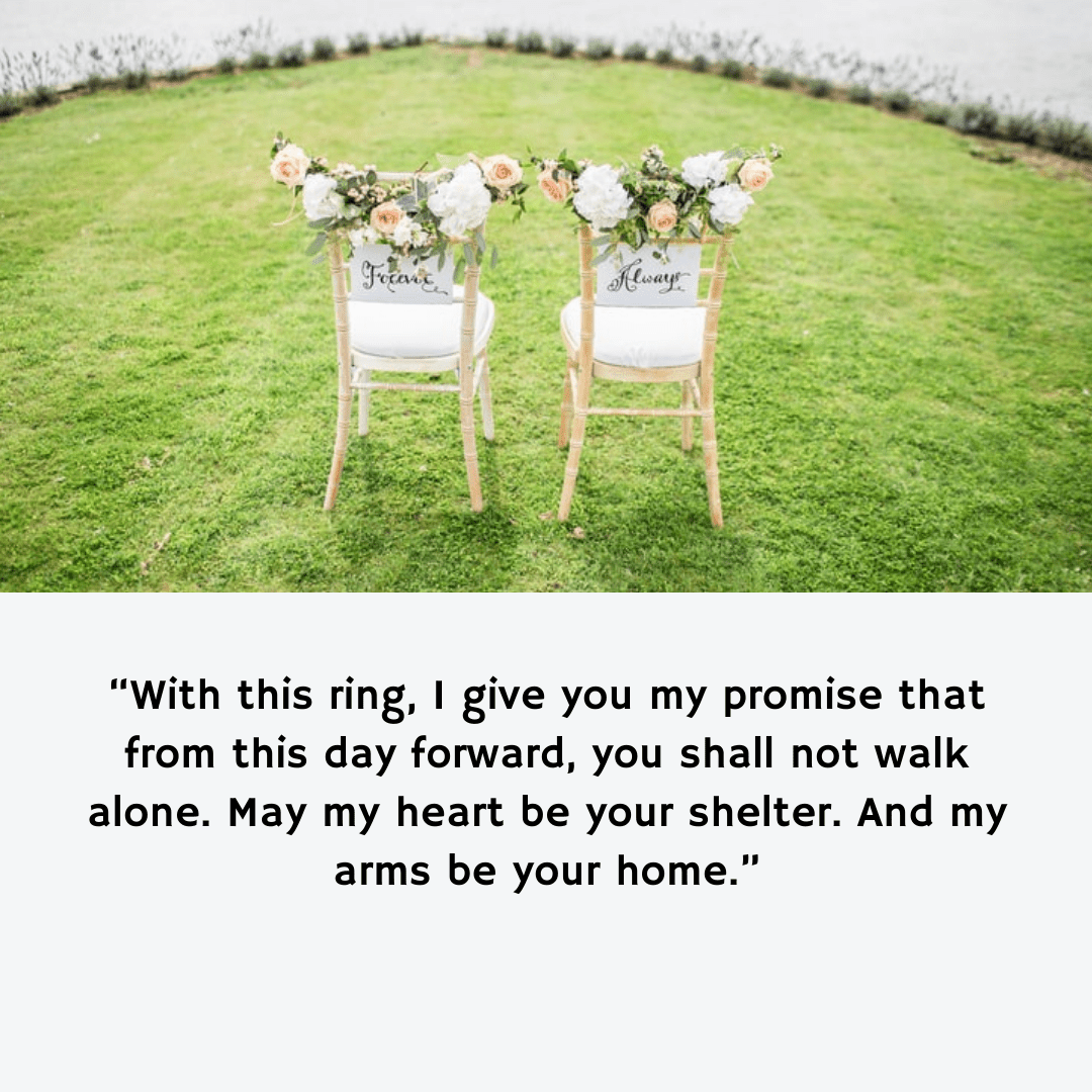 Non-Denominational Wedding Vows