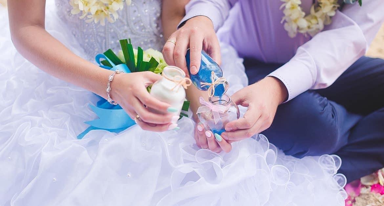 sand for wedding unity ceremony:sand ceremony