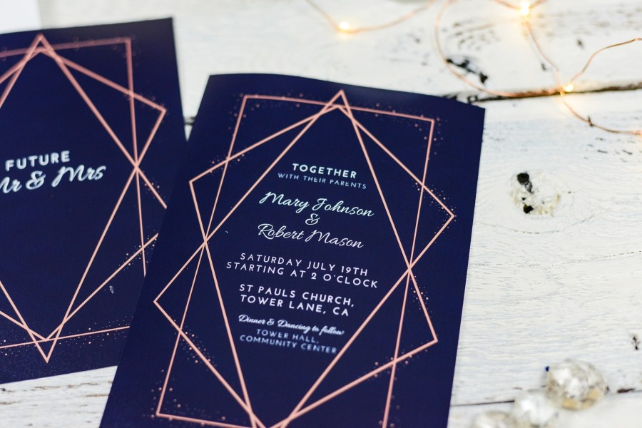 wedding rsvp card - samples