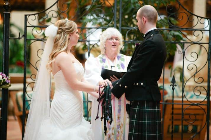 Celtic wedding vows