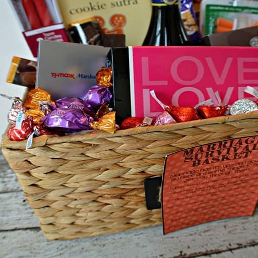 Marriage Survival Basket:Marriage Survival Basket