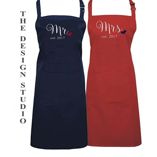 Mr. and Mrs. Aprons