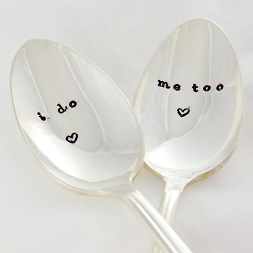Personalised Wedding Spoons