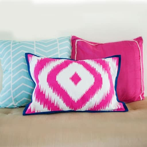 diy wedding gifts for bride and groom:Playful-pillows