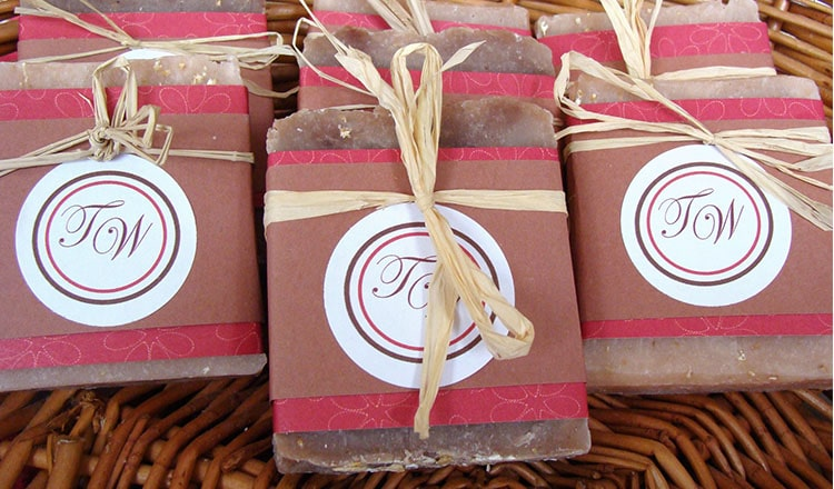 Scented Natural Soaps with a Thank You
