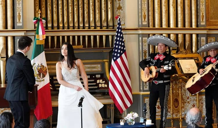 Unexpected Wedding Music