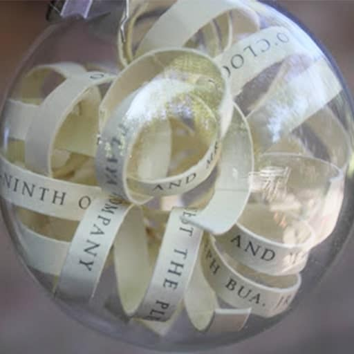 Wedding Invitation Ornament