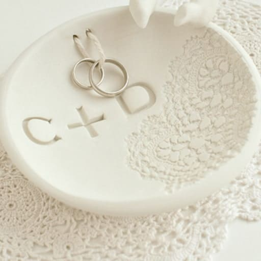 wedding gifts to make:Ring Bowl
