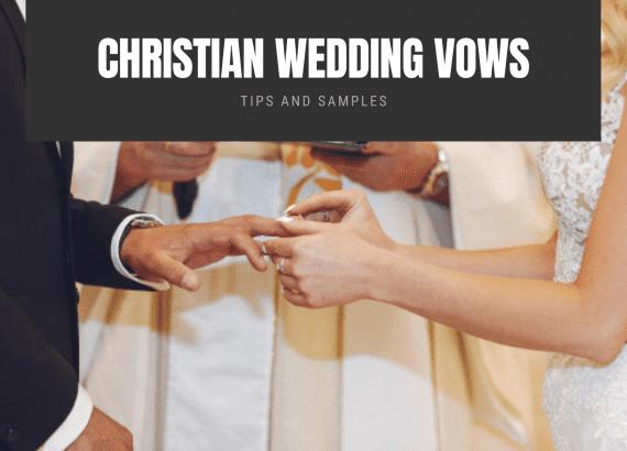 christian wedding vows - thumbnail