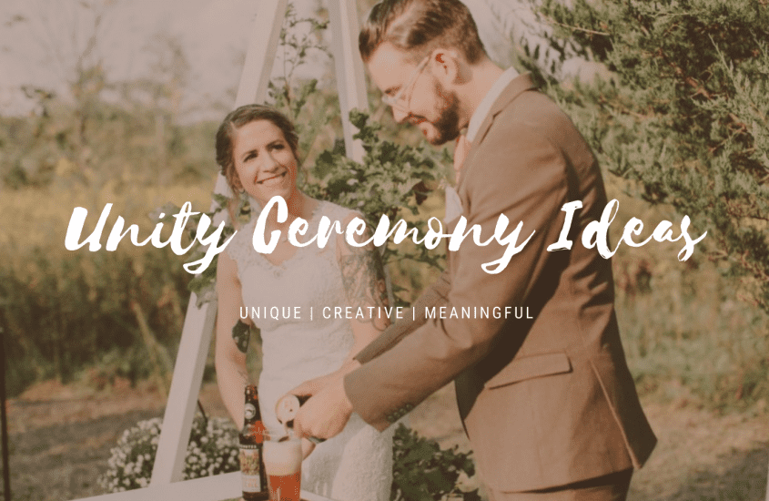 Unique Unity Ceremony Ideas To Perfectly Capture the Spirit of Your Relationship