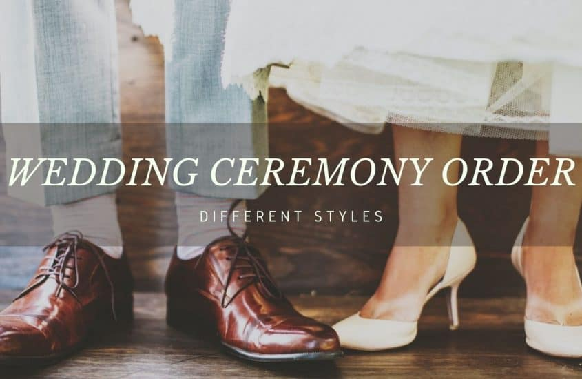 Wedding Ceremony Outline 101 – An Ultimate Guideline