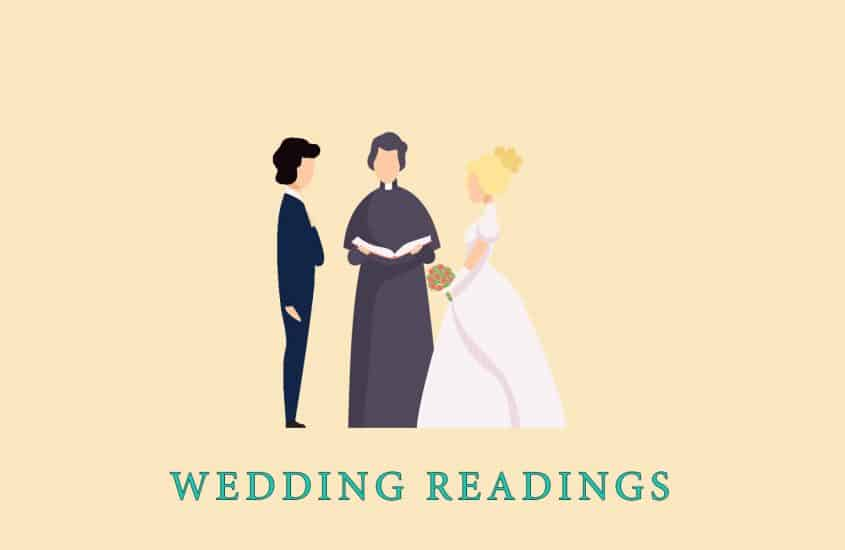 45 Best Readings for Wedding: Guide for Wedding Ceremony Readings in 2021