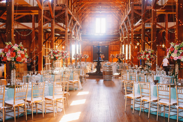 wedding decoration ideas - ceilings