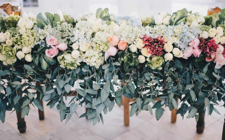 Go Green - wedding reception decorations