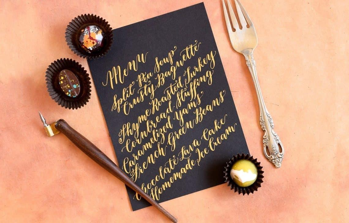 wedding decoration ideas - menus