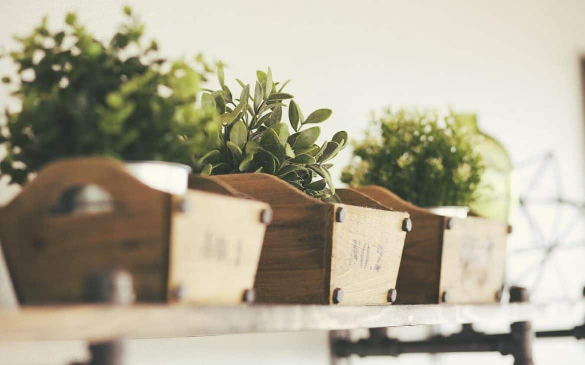 Rustic Stacked Crates - wedding reception decorations
