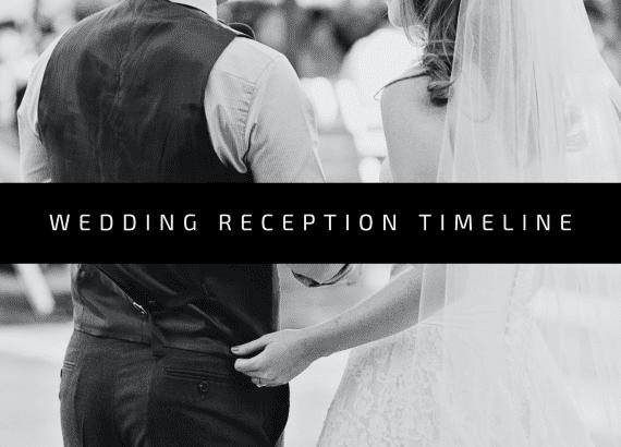 wedding reception timeline - thumbnail