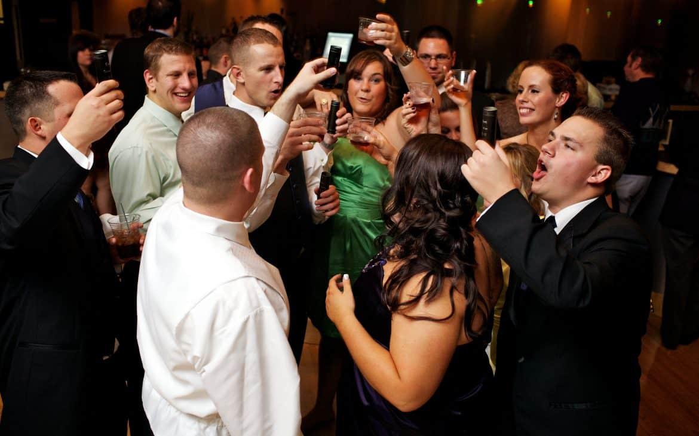 a day of wedding reception