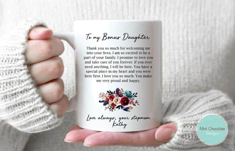 Bonus Daughter Coffee Mug