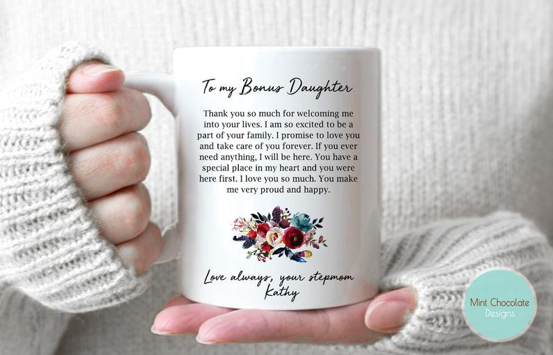 Bonus Daughter Coffee Mug