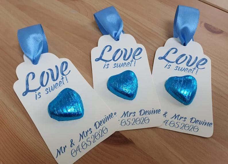 bulk wedding favors:Chocolate