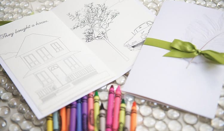 Couple's Coloring Book