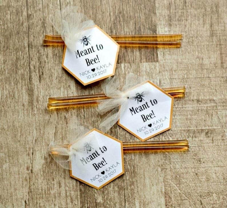 wedding favors bulk:Custom Honey Wedding Favors