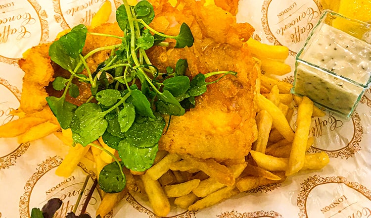 easy wedding reception food:Fish-and-Chips