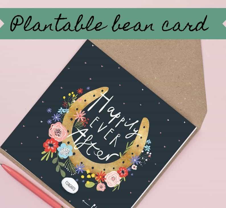 great last minute wedding gifts:Handmade Wedding Card