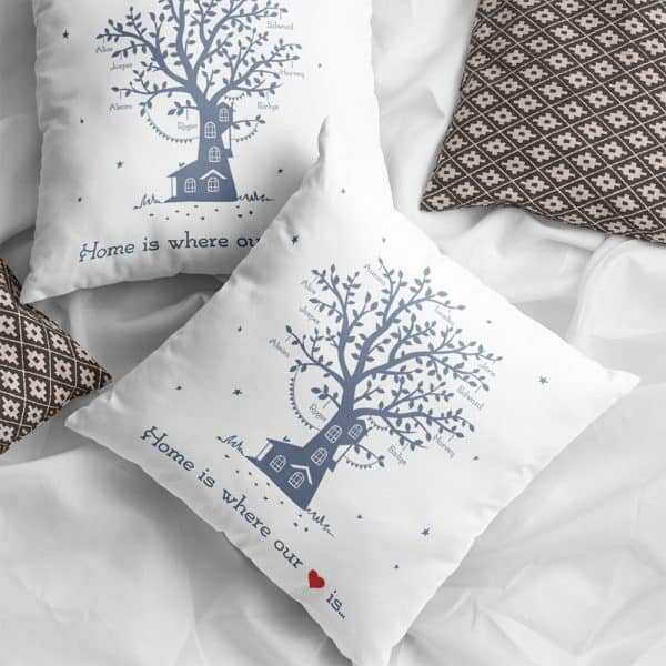 Home-Is-Wher- Our-Heart-Is-Name-Personalized-Family-Tree-Pillow