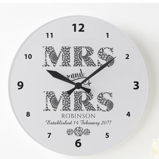 Personalized Larger Clock
