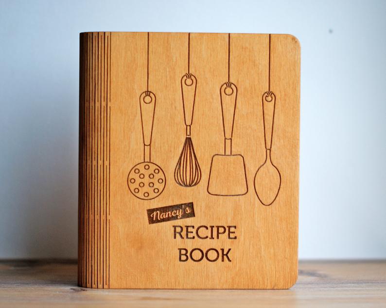 Personalized Recipe Book Cookbook