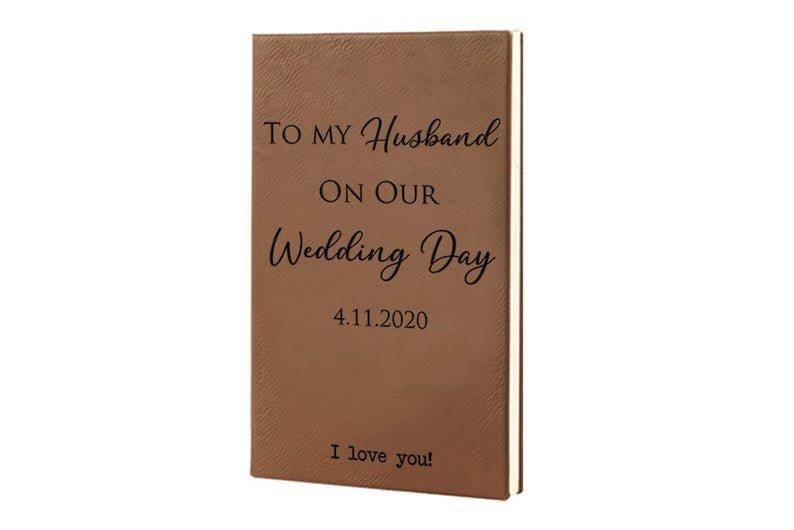 Personalized Wedding Journal