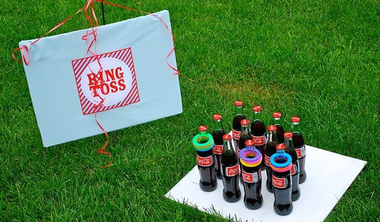 fun wedding reception games:Ring Toss