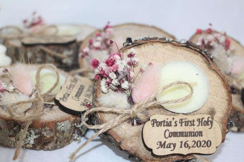 useful wedding favours:Tealight Holders