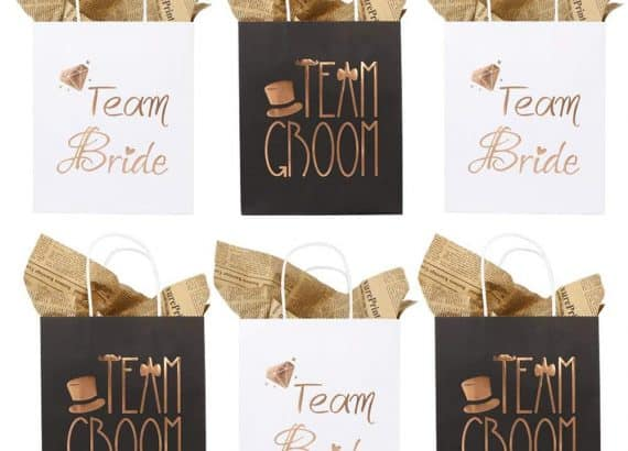 Wedding Party Paper Gift Bags