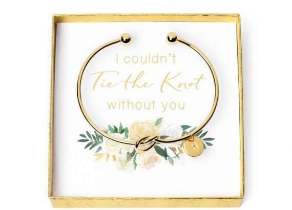 bridal party gifts - proposal bracelet
