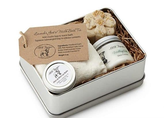 Farm Fresh Spa Experience Tin - bridal party gifts