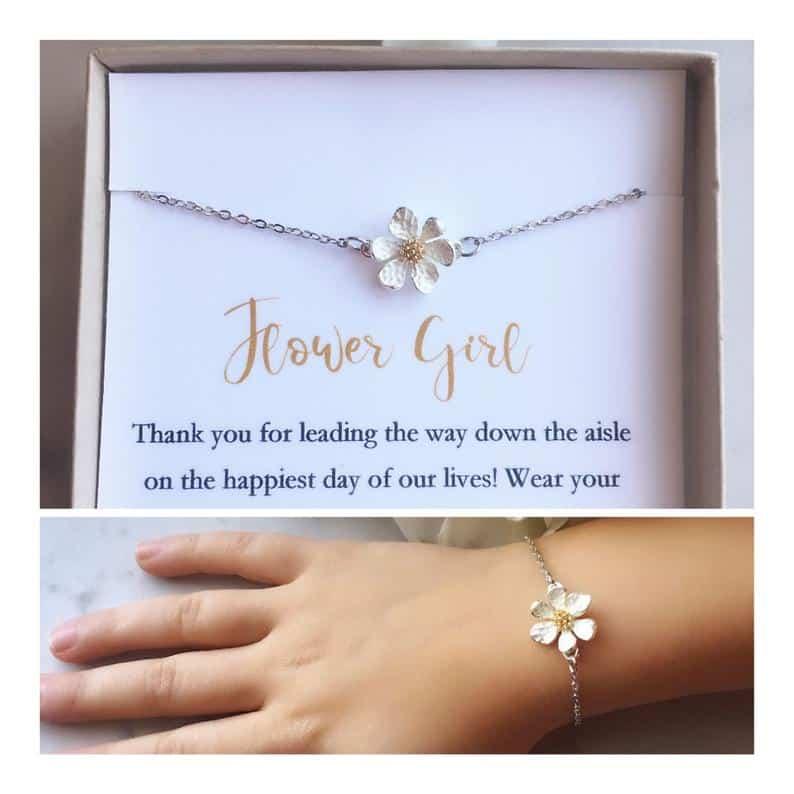 Flower Girl Bracelet - gifts for wedding party