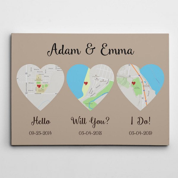 Hello – Will You – I Do Map