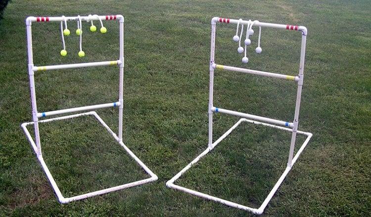 fun wedding ideas:ladder golf