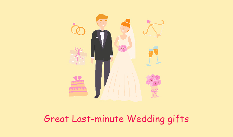 last-minute wedding gifts
