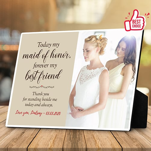 maid-of-honor-desktop-plaque