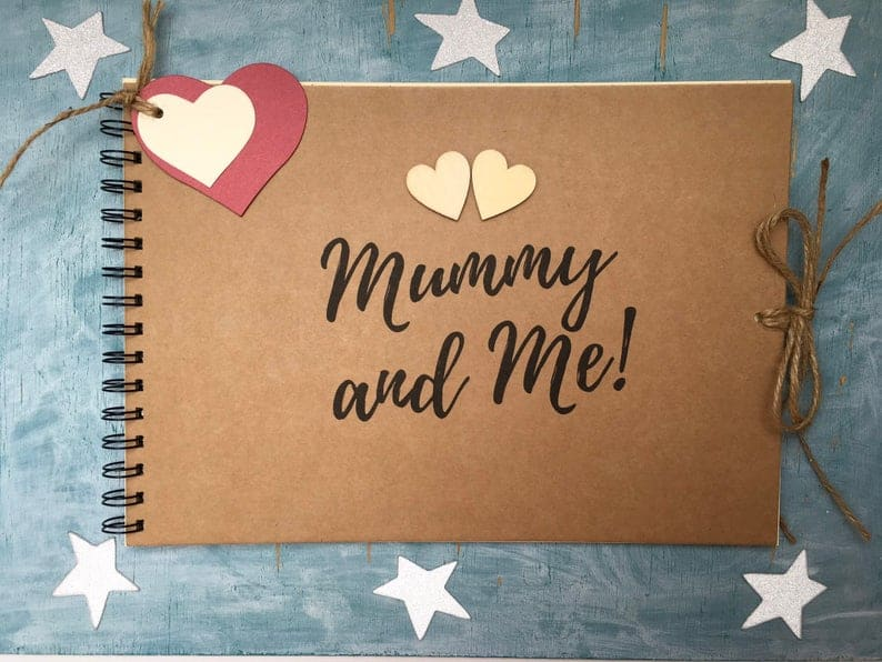 mommy and me scrapbook