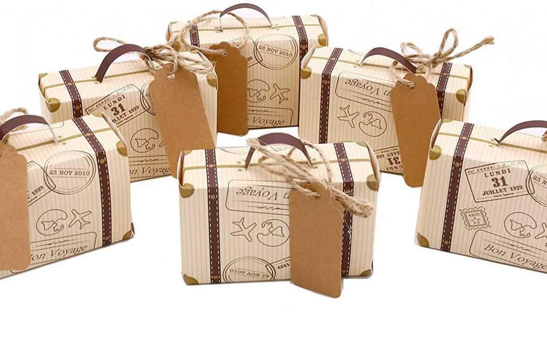 Mini Suitcase Favor Box Party Favor