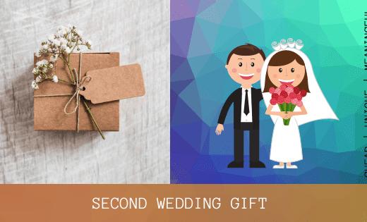 second wedding gift ideas - thumbnail